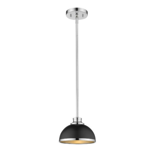 Citadel Chrome One-Light Mini Pendant
