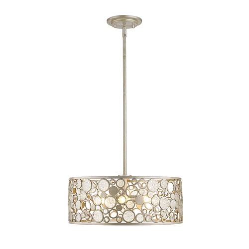 Ariell Antique Silver Six-Light Pendant