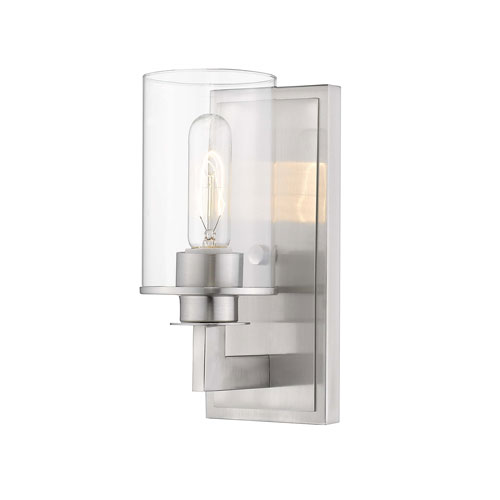 Savannah Brushed Nickel One-Light Wall Sconce