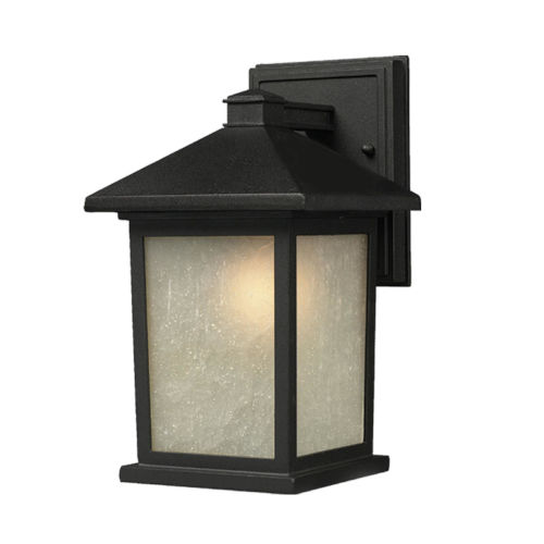 Holbrook Black One-Light Outdoor Wall Sconce