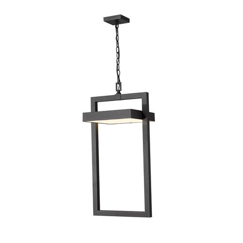 Luttrel Black One-Light LED Outdoor Pendant