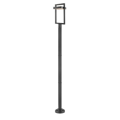 Luttrel Black LED Outdoor Post Mount