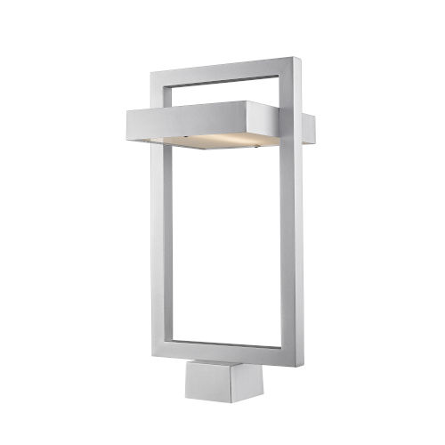 Luttrel Silver LED Outdoor Post Mount