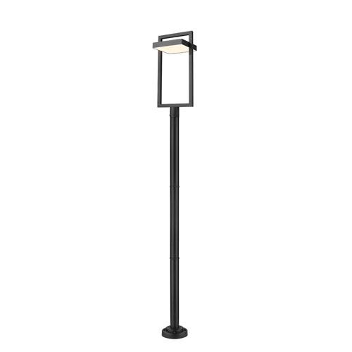 Luttrel Black 104-Inch One-Light LED Outdoor Post Mount