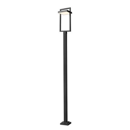 Luttrel Black 123-Inch One-Light LED Outdoor Post Mount