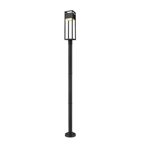 Barwick Black 101-Inch One-Light LED Outdoor Post Mount