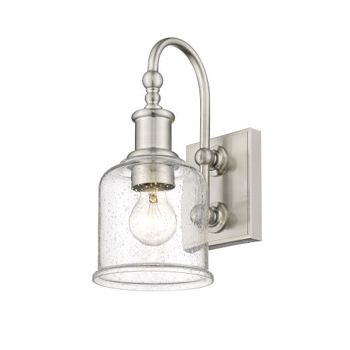 Bryant Brushed Nickel One-Light Wall Sconce