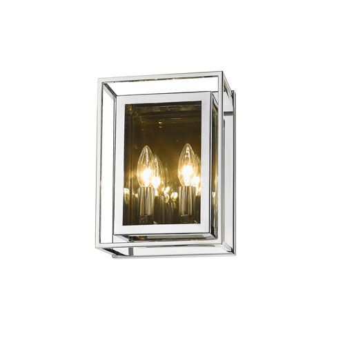 Infinity Chrome Two-Light Wall Sconce
