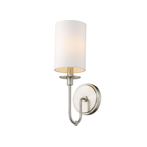 Ella Brushed Nickel One-Light Wall Sconce