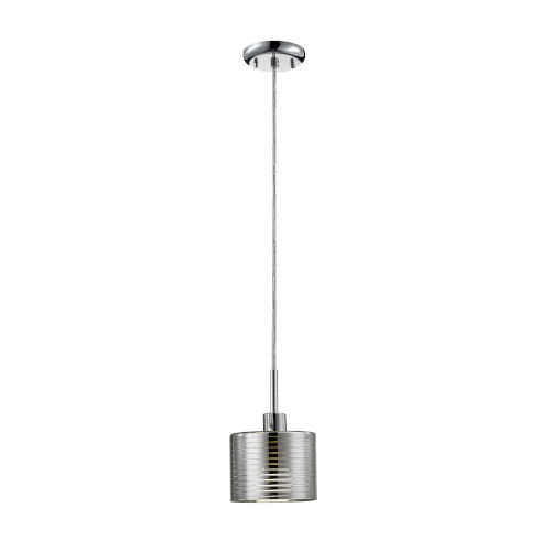 Sempter Chrome One-Light Mini Pendant