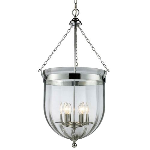 Z-Lite Warwick Chrome Six-Light Pendant
