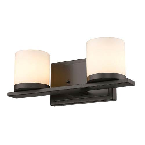 Z-Lite Nori Bronze Two-Light LED Bath Vanity