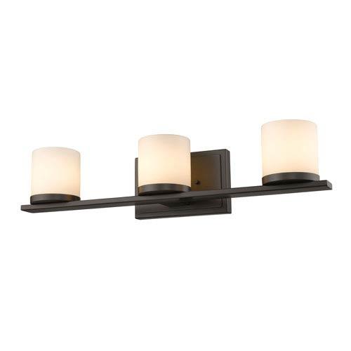 Z-Lite Nori Bronze Three-Light Vanity Fixture