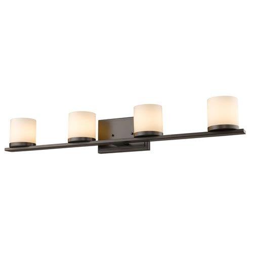 Z-Lite Nori Bronze Four-Light Vanity Fixture