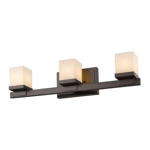 Z-Lite Cadiz Bronze Three-Light Vanity Fixture