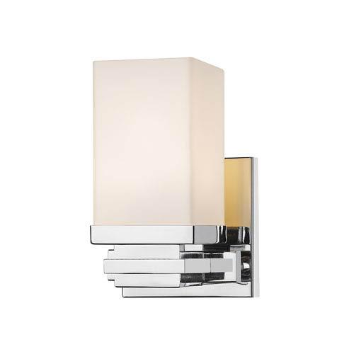 Avige Chrome One-Light LED Wall Sconce