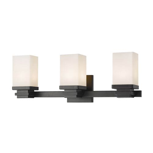 Avige Bronze Three-Light LED Vanity