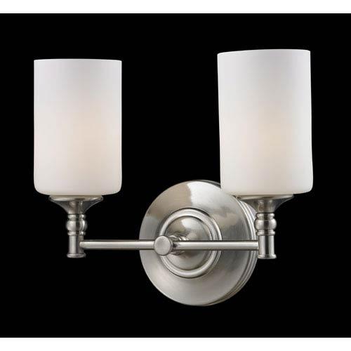 Z-Lite Cannondale Two-Light Bathroom Fixture