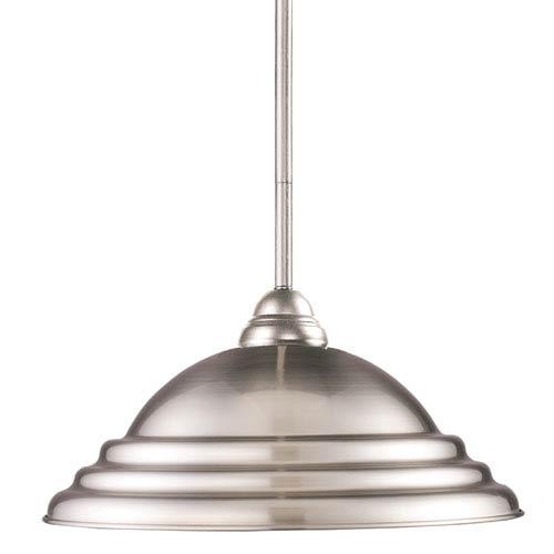 Z-Lite Martini Brushed Nickel One Light Pendant Light