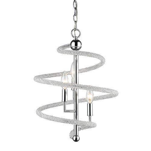 Czarina Chrome Three-Light Pendant