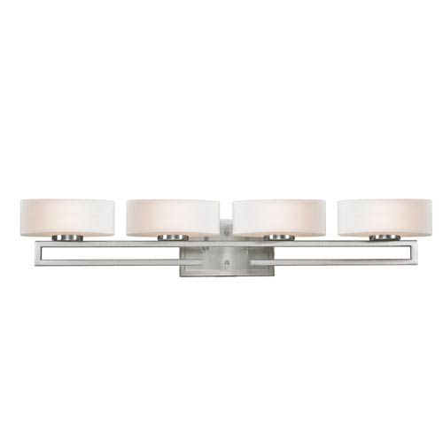 Z-Lite Cetynia Brushed Nickel Four-Light LED Bath Vanity