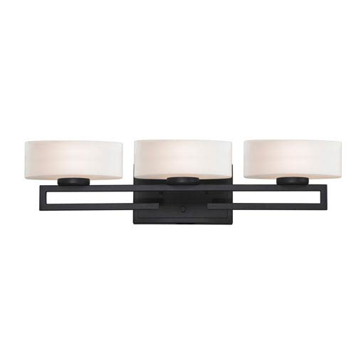 Z-Lite Cetynia Painted Bronze Three-Light LED Bath Vanity