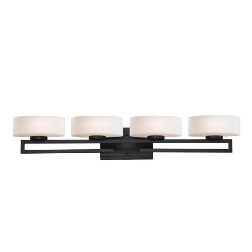 Z-Lite Cetynia Painted Bronze Four-Light LED Bath Vanity