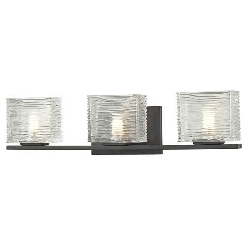 Z-Lite Jaol Bronze Three-Light Vanity Light