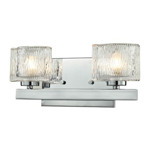 Z-Lite Rai Chrome Two-Light Vanity Light