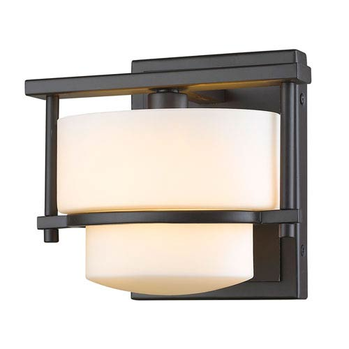 Z-Lite Porter Bronze One-Light Vanity Fixture