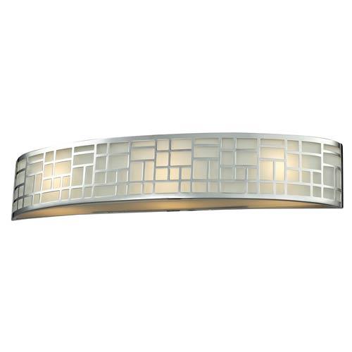 Z-Lite Elea Chrome Three-Light Vanity Light