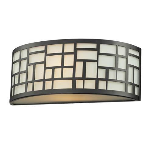 Z-Lite Elea Bronze One-Light Wall Sconce