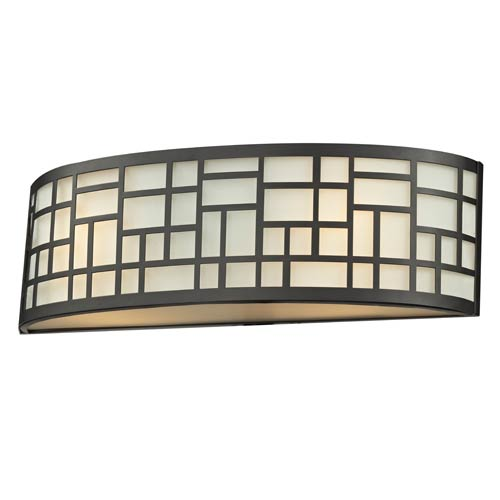 Z-Lite Elea Bronze Two-Light Vanity Light