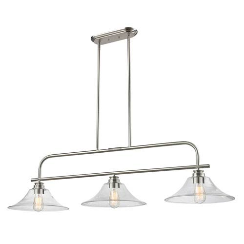 Z-Lite Annora Brushed Nickel Three-Light Island Pendant