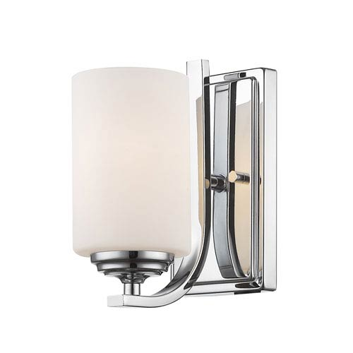 Bordeaux Chrome One-Light Wall Sconce