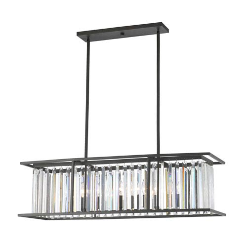Z-Lite Monarch Bronze Six-Light Linear Pendant  sc 1 st  Bellacor & Z Lite Candelabra Linear Pendant Lighting | Bellacor