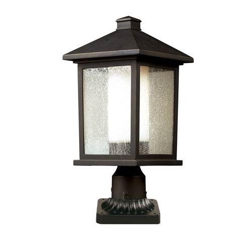 Mesa Oil Rubbed Bronze One-Light Outdoor Post Light