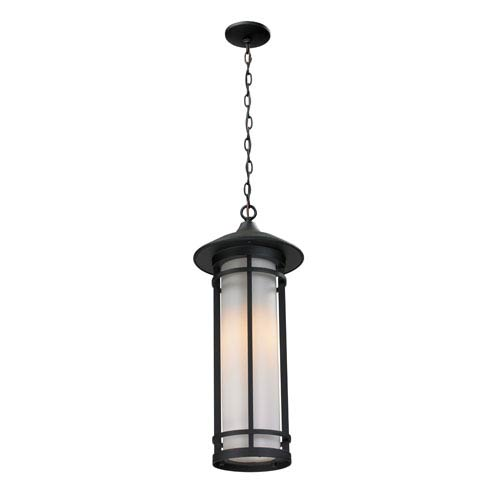 Woodland Black Outdoor Chain Light