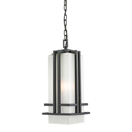 Abbey Black Outdoor Chain Light