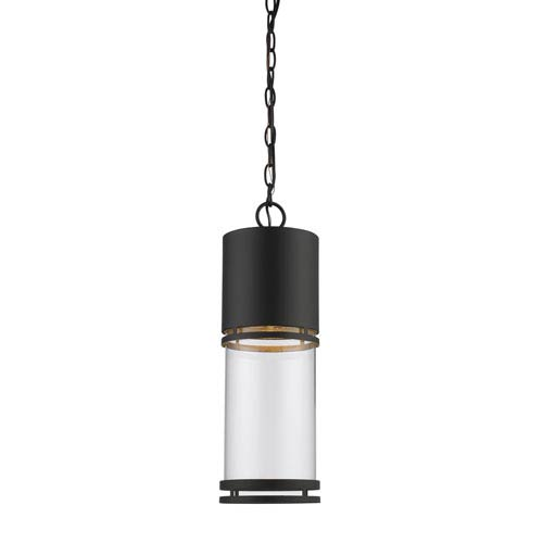 Luminata Oil Rubbed Bronze One-Light Outdoor LED Mini Pendant