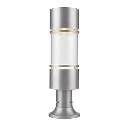 outdoor post lights led luminata brushed aluminum led outdoor pier mount light post lighting free shipping bellacor