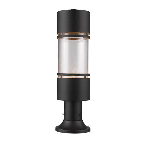 Luminata LED Outdoor Rubbed Bronze LED Outdoor LED Post Mount Light