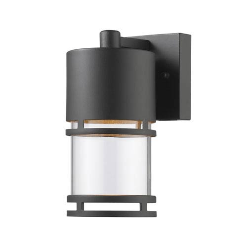 Luminata Oil Rubbed Bronze 5.5-Inch One-Light Outdoor LED Wall Sconce