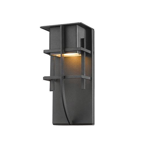 Stillwater Black 5-Inch One-Light LED Outdoor Wall Light