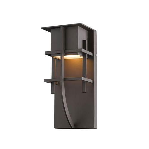Stillwater Deep Bronze 5-Inch One-Light LED Outdoor Wall Light