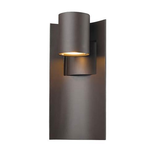 Amador Deep Bronze 7-Inch One-Light LED Outdoor Wall Light