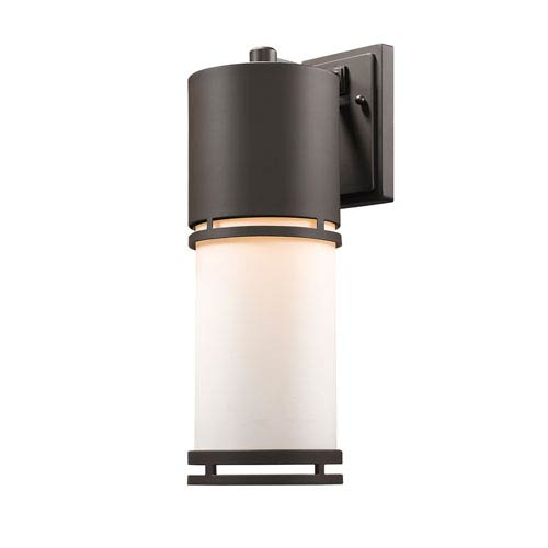 Z-Lite Luminata Deep Bronze 18-Inch LED Outdoor Wall Mount
