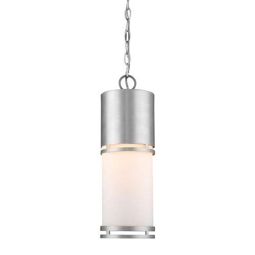 Luminata Brushed Aluminum 18-Inch LED Outdoor Pendant