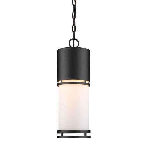 Luminata Black LED Outdoor Pendant