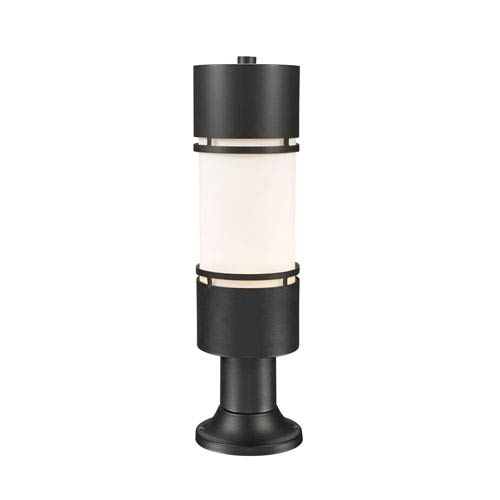 Luminata Black 23-Inch LED Outdoor Post Light